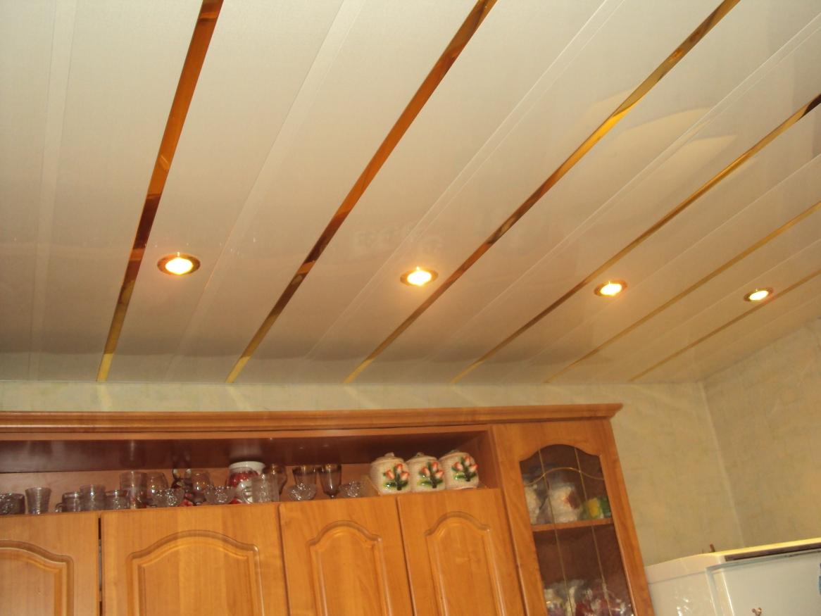 Ремонт потолок на кухне своими руками